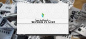 Freshening and Fixing the Event Kiosk